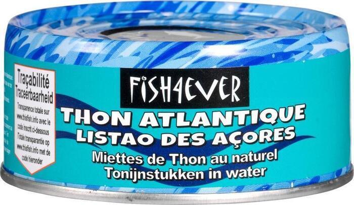 Sustainably-fished Skipjack tuna chunks in brine (blik, 160g)