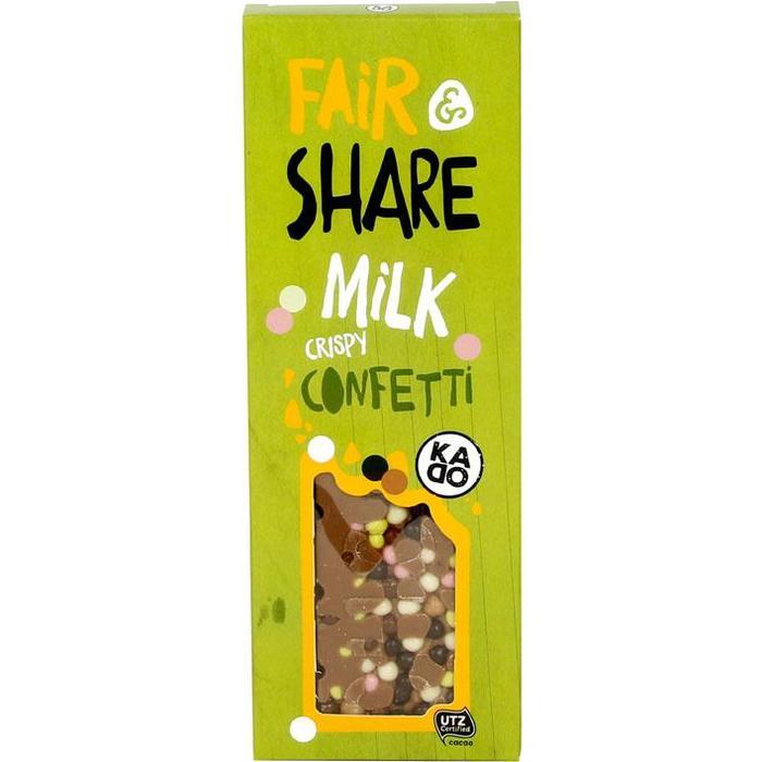 KADOO Fair & share milk crispy confetti (100g)