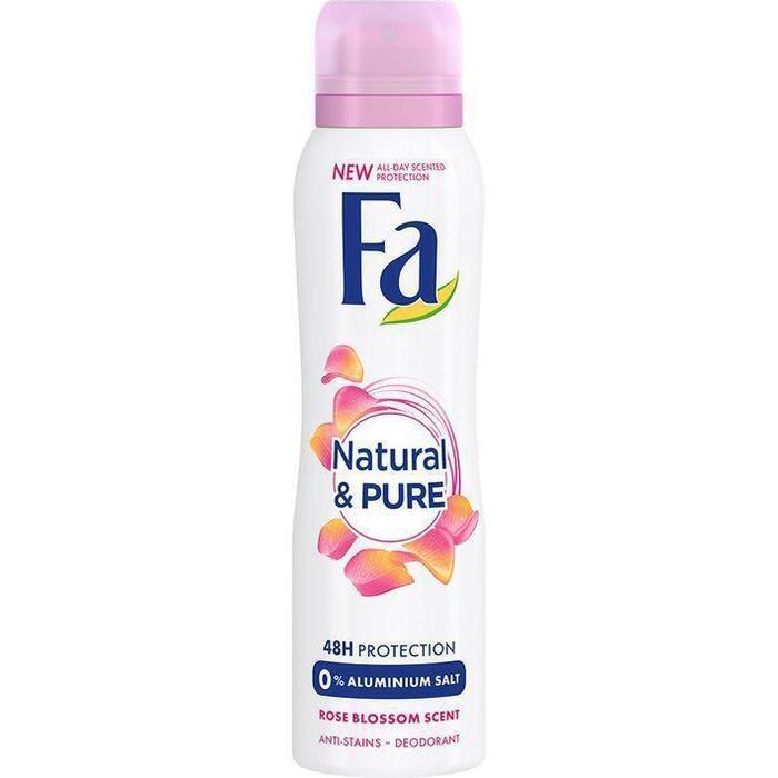 Fa Deospray naturel & pure light rose (150ml)