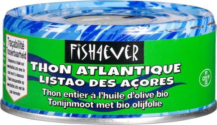 Skipjack-tonijn in olijfolie (blik, 160g)