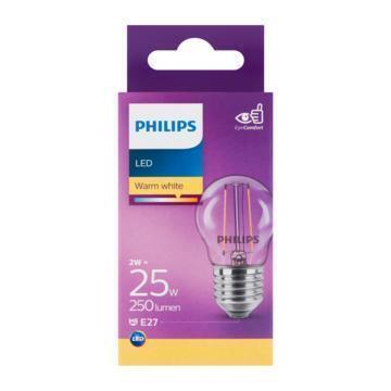 Philips Fil kogel E27 25W