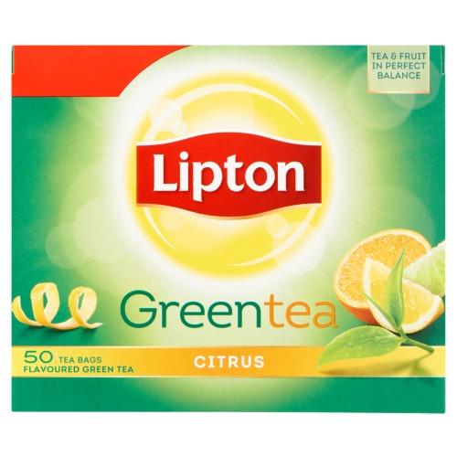 Lipton Clear Green Citrus 50ST 12x (50 × 1.3g)