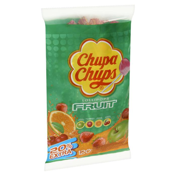 CHUPA CHUPS  Fruit Lollies 1440 GR Zak (120 × 12g)