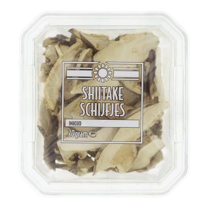 Neutraal Shiitake schijfjes (20g)