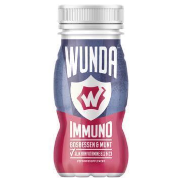 WUNDA Bosbessen Munt Shot 100 ml (100ml)