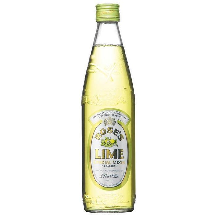 Rose's lime cordial mixer no alcohol (rol, 57 × 0.57L)