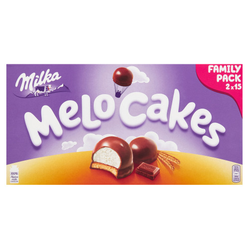 MILKA MELLO CHOCOLADE STUKKEN MELK 500 GR (500g)