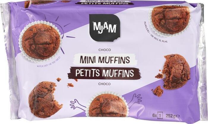 Mini chocolademuffins (252g)