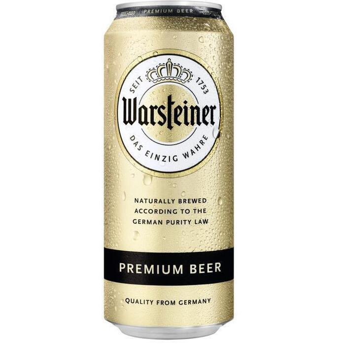 Warsteiner (rol, 50 × 0.5L)