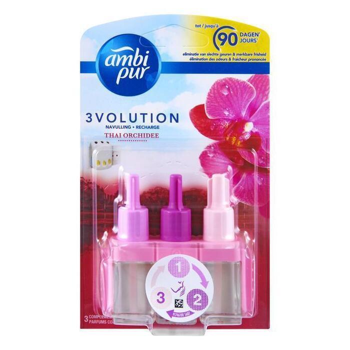 Ambi Pur 3Vol Thai Orchidee Electrische Luchtverfrisser Navulling 20ml (20ml)