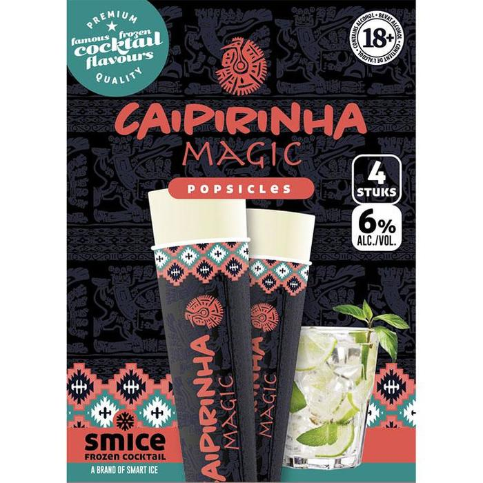 Smice Frozen cocktail caipirinha (4 × 32cl)