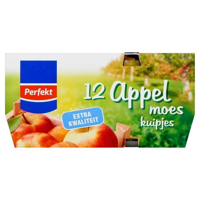 12 Appelmoes kuipjes (r, 1.2kg)
