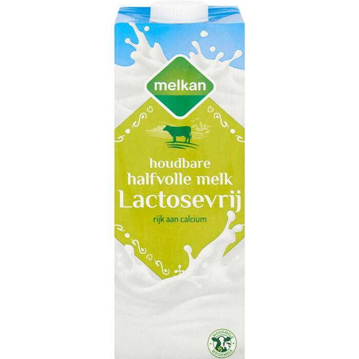 Melkan Houdbare Halfvolle Melk Lactosevrij 1 L (1L)