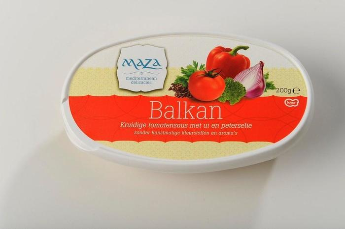 Balkan Turkse tomaten salade (bak, 200g)