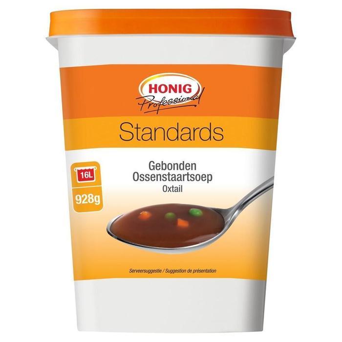 Honig Professional Gebonden Ossenstaartsoep Standards 928 g Beker/kuipje (928g)