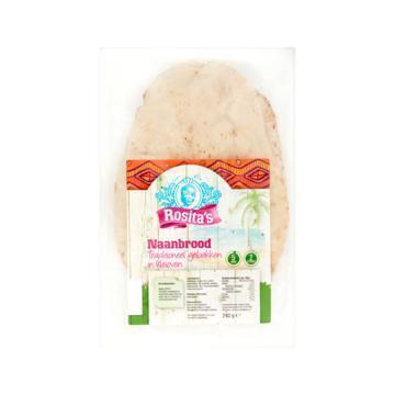 Rosita's naan brood 240 gram (240g)