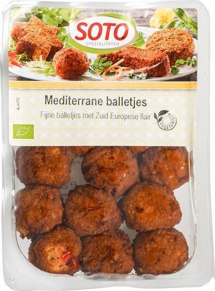 Mediterrane balletjes (bak, 250g)
