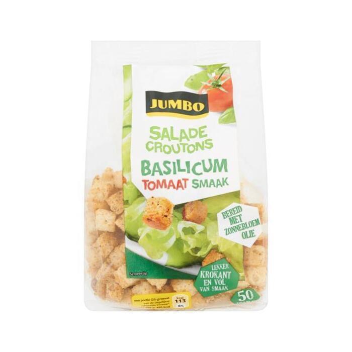 Jumbo Saladecroutons Basilicum Tomaat Smaak 50g (50g)