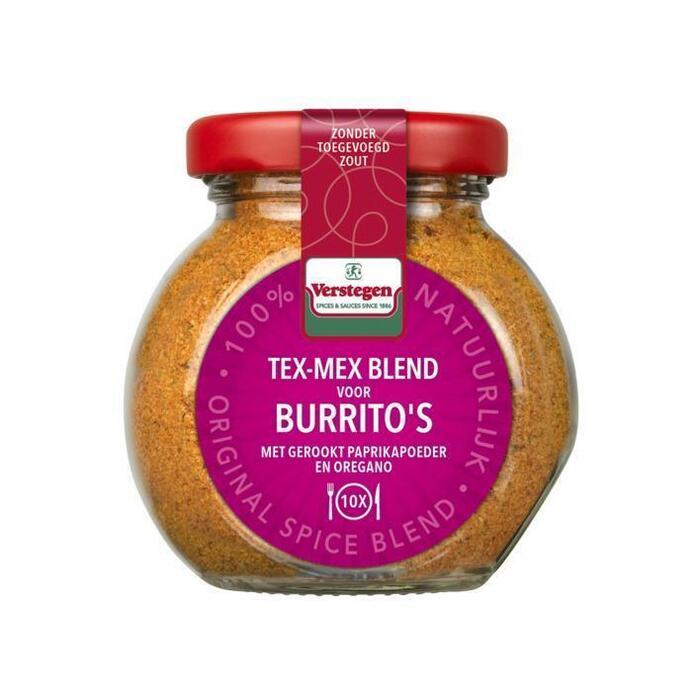 Verstegen Tex-mex blend voor burrito's (63g)