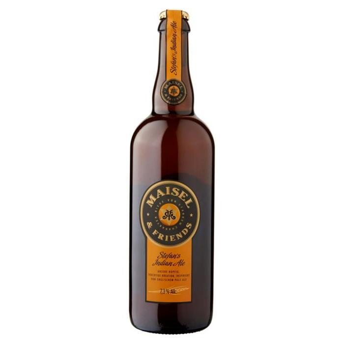 Maisel & Friends Stefan's Indian Ale Fles 0, 75L (0.75L)