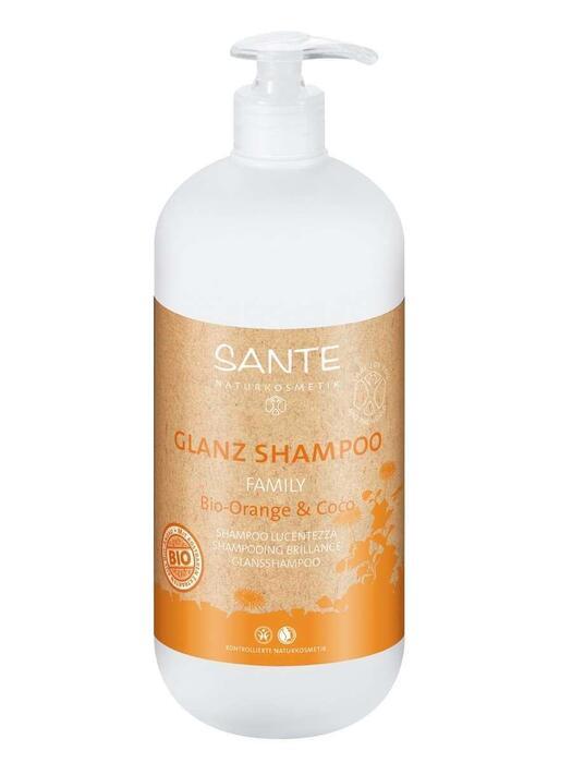 Family Glansshampoo Bio-Sinaasappel-Kokos SANTE 950ml (0.95L)
