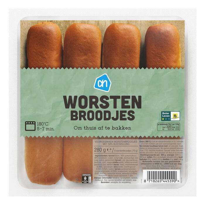 AH Worstenbroodjes (stuk)