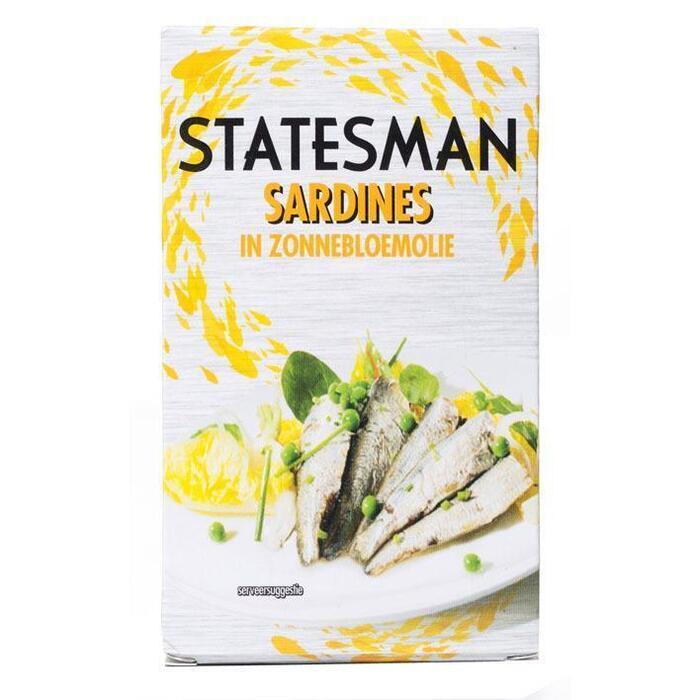 sardines in zonnebloemolie (blik, 120g)