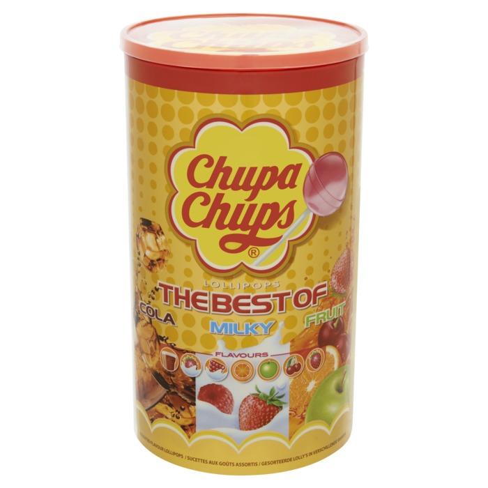 CHUPA CHUPS  Best Of Lollies 1200 GR Emmer (100 × 12g)