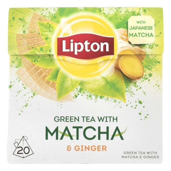Green matcha ginger thee (20 × 1.5g)