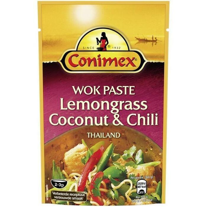 Wok Paste Lemongrass & Chili (130g)