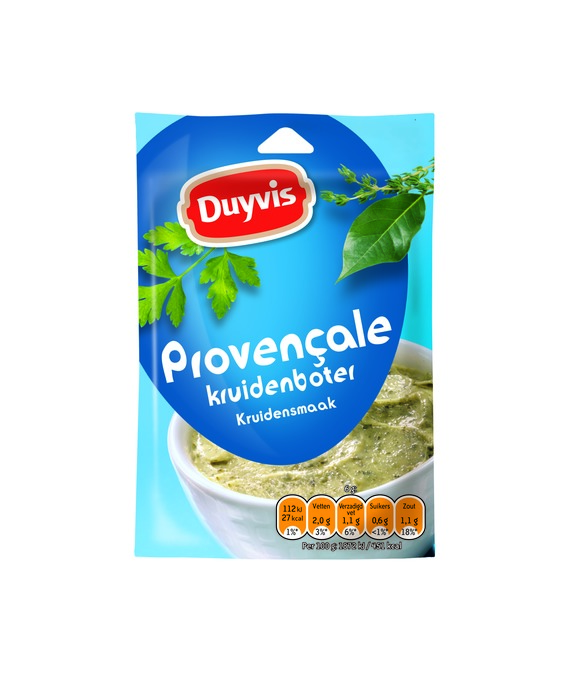 Mix voor kruidenboter - Provençale (6g)