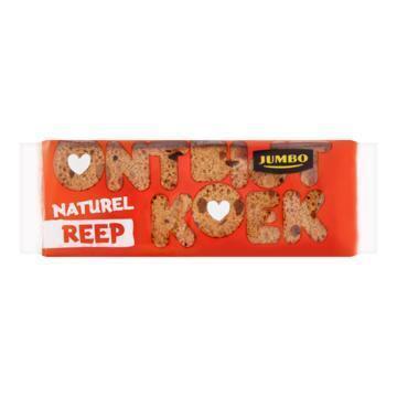 Jumbo Ontbijtkoek Naturel Reep 5 Stuks (5 × 55g)