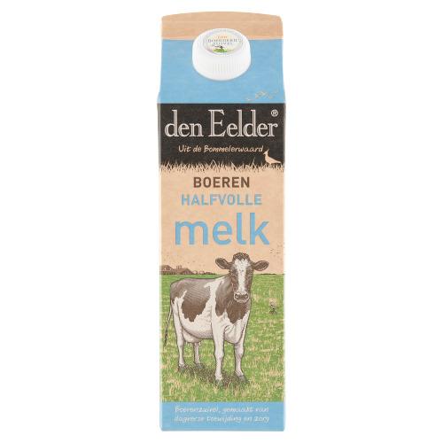 Halfvolle melk (pak, 1L)