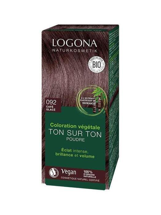Haarkleuring 092 Roodbruin Logona 100g (100g)