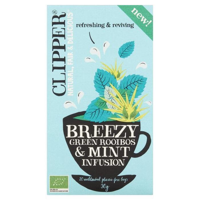 Clipper Breezy Green Rooibos & Mint (20 × 30g)