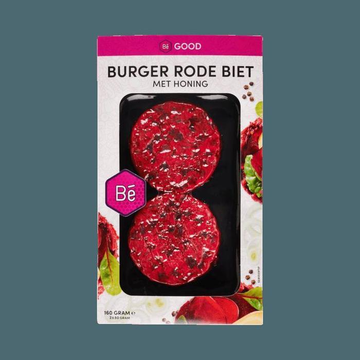 Burger rode biet met honing (2 × 80g)