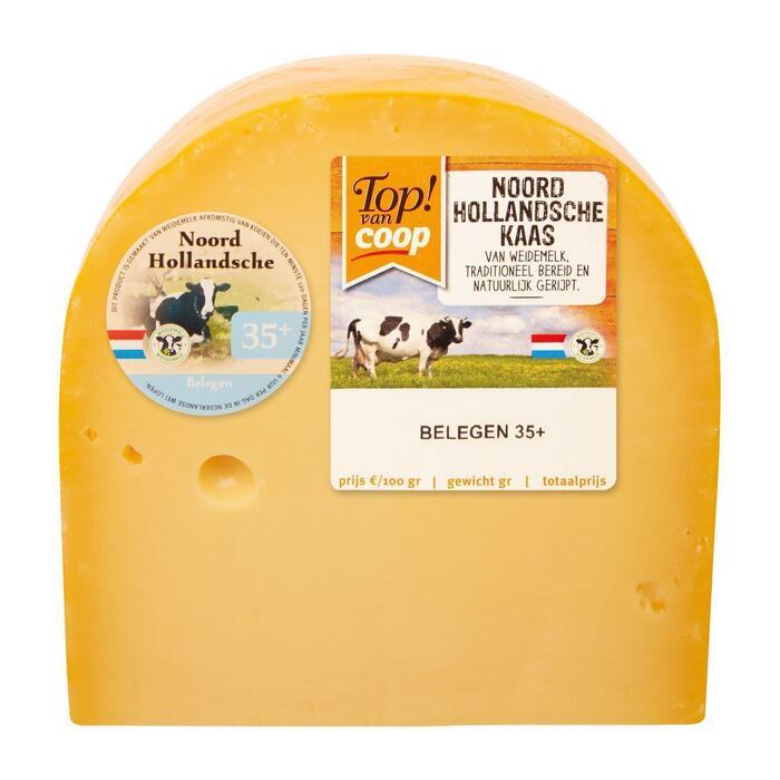 Noord-Hollandsche Belegen 35+ kaas stuk (475g)