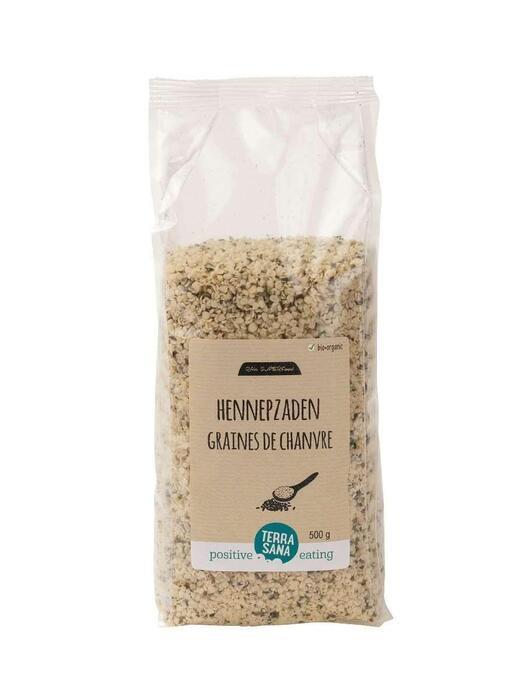 RAW Hennepzaad -voordeelpak- TerraSana 500g (500g)