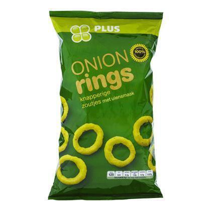 PLUS Onionrings (125g)
