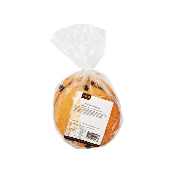 Coop Scharrel eierkoeken rozijn (300g)