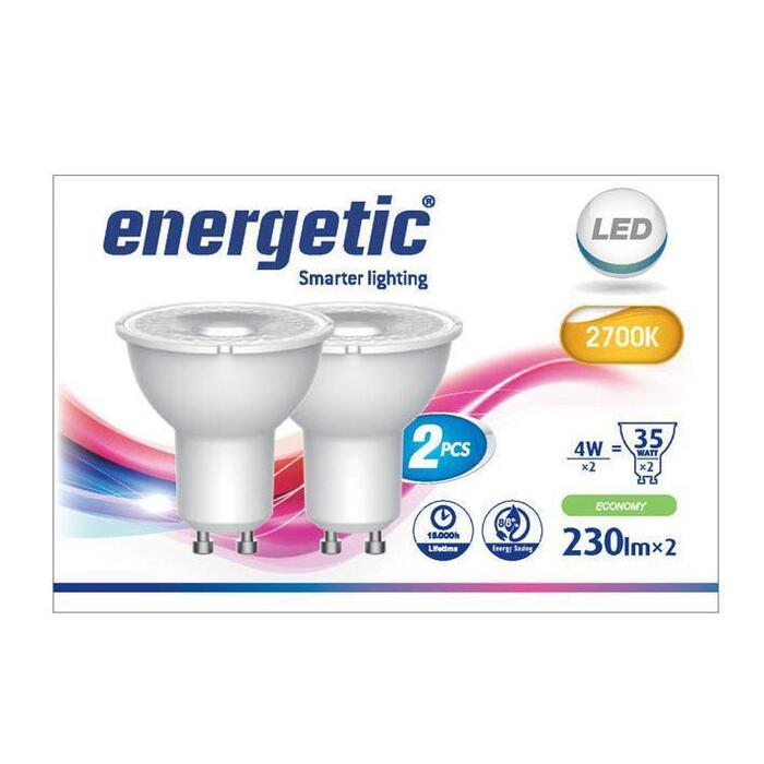 Energetic Led reflecterend g10 35w (2 st.)