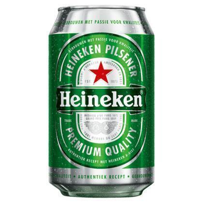 Heineken premium pilsener (rol, 24 × 33cl)
