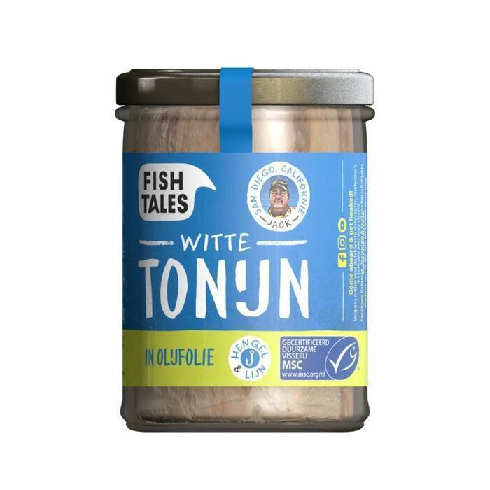 Albacore tonijn in olijfolie (200g)