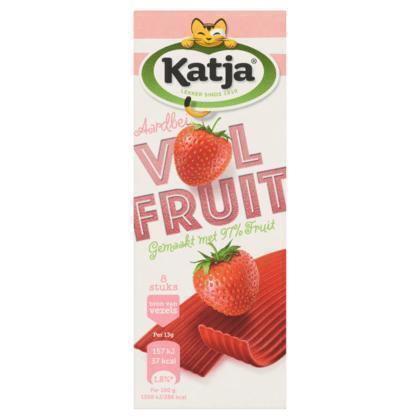 Katja VolFruit aardbei (8 × 104g)