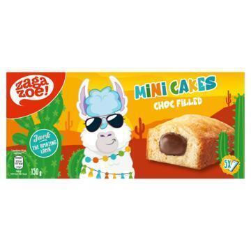 zagazoe - Jack the amazing lama - mini cakes with cocoa filling 5 x 30 g (150g)