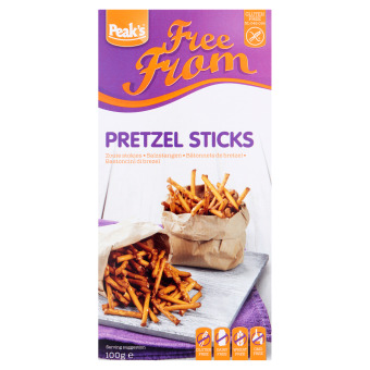 Peak's Free From Zoute Stokjes 100 g (100g)