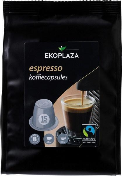 Espresso koffiecapsules (zak, 120g)