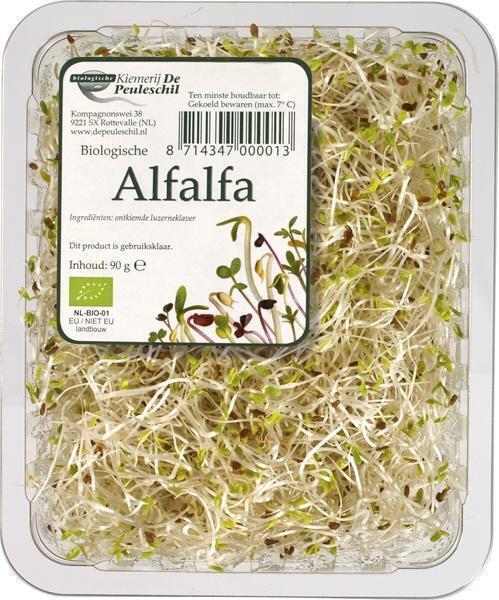 De Peuleschil, Alfalfa (Bakje, 90g)