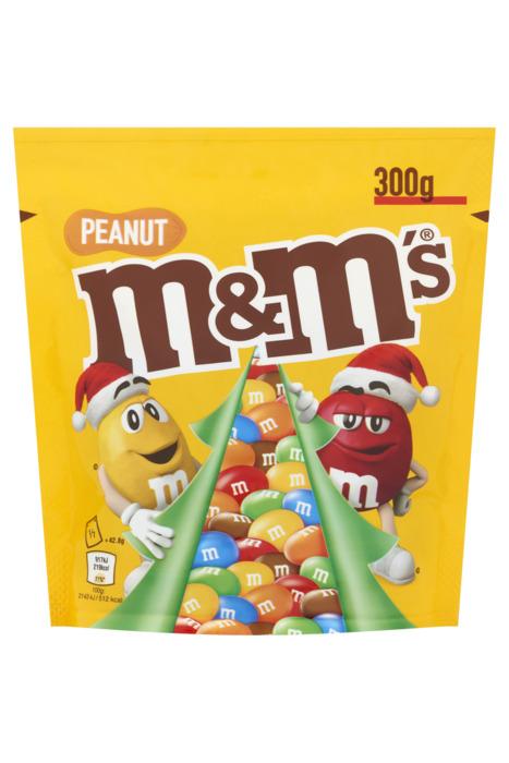 M&M's PEANUT Chocoladedragees 300g stazak (300g)