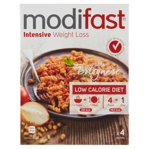 Modifast Intensive Weight Loss Pasta Bolognese 4 Stuks 248 g (248g)